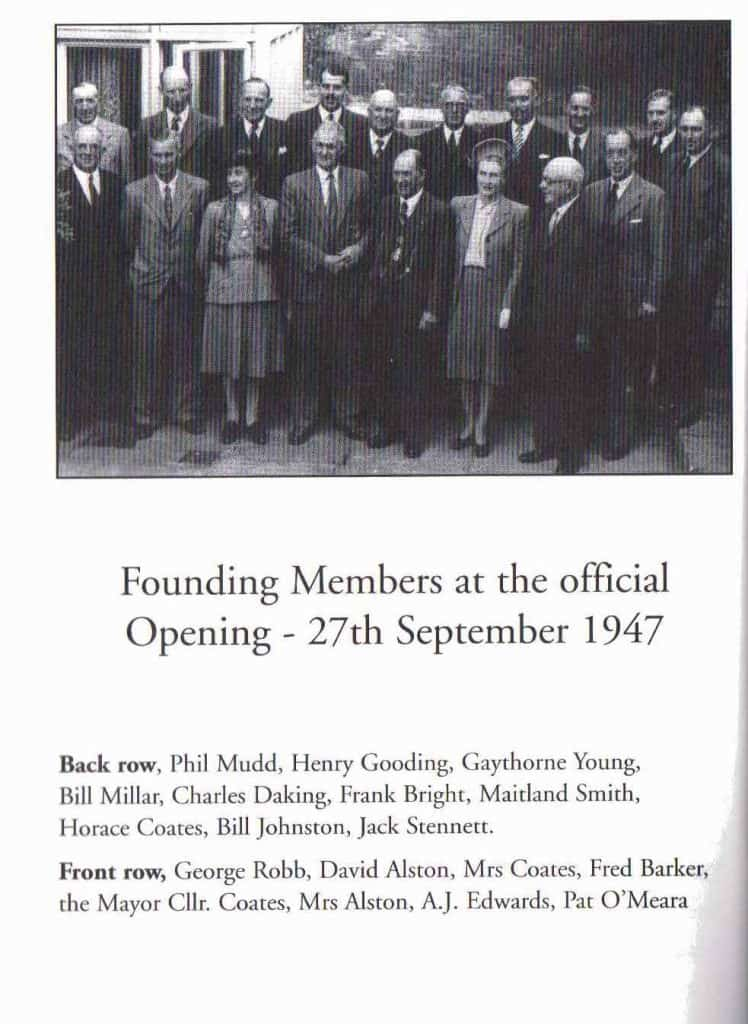 The founding members of the Farmers Club
